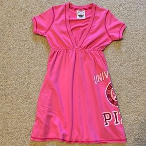 Victoria's Secret Pink terry dress cover up XS